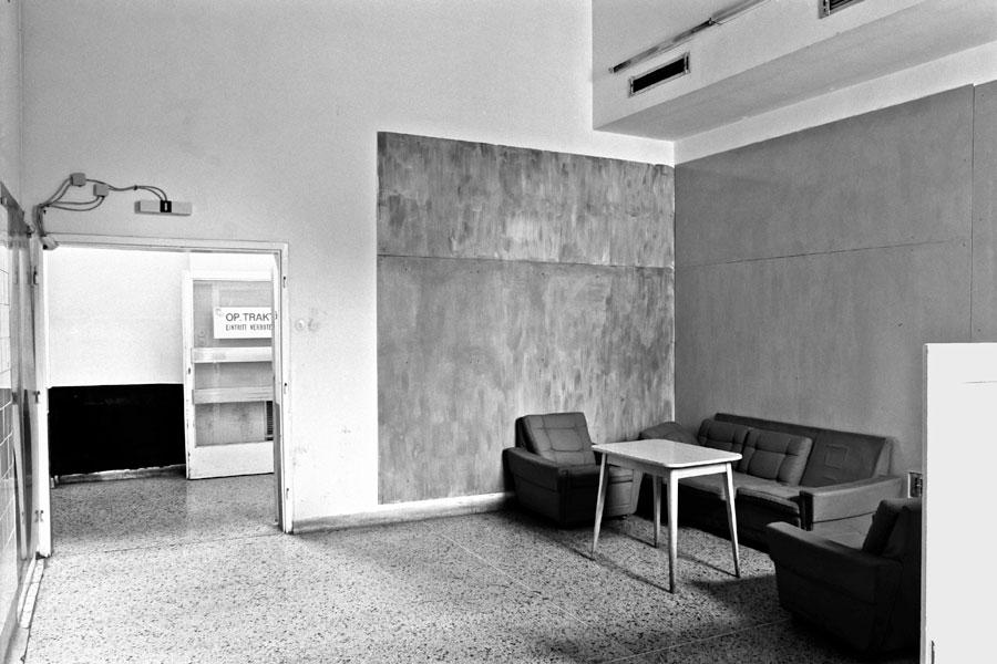 Altes AKH, Wien. Foto 1993/1994