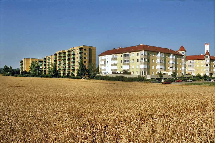 Stadt in Latenz, Asten